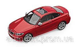 Модель автомобиля BMW 2 Series Coupé (F22) Melbourne Red, Scale 1:43