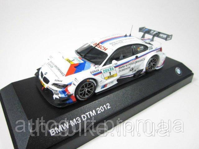 Модель автомобиля BMW M3 DTM 2012 (E92) White, Scale 1:43