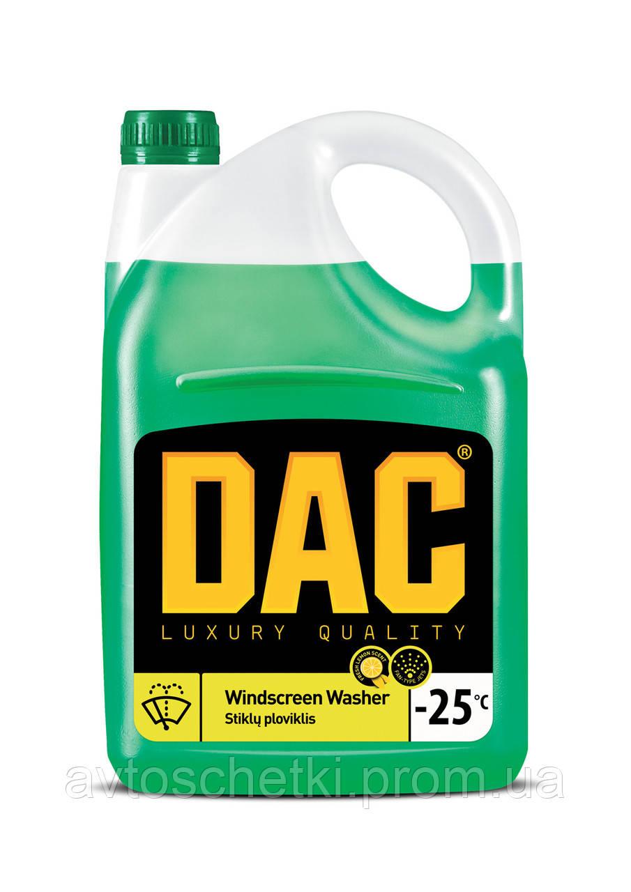 Омивач скла зимовий 4л/ DAC Windscreen washer -25°C 4l