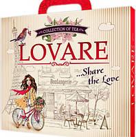Чай Lovare портфельчик коллекция чая 12 видов