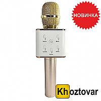 Беспроводной микрофон-караоке Bluetooth Q7 MS