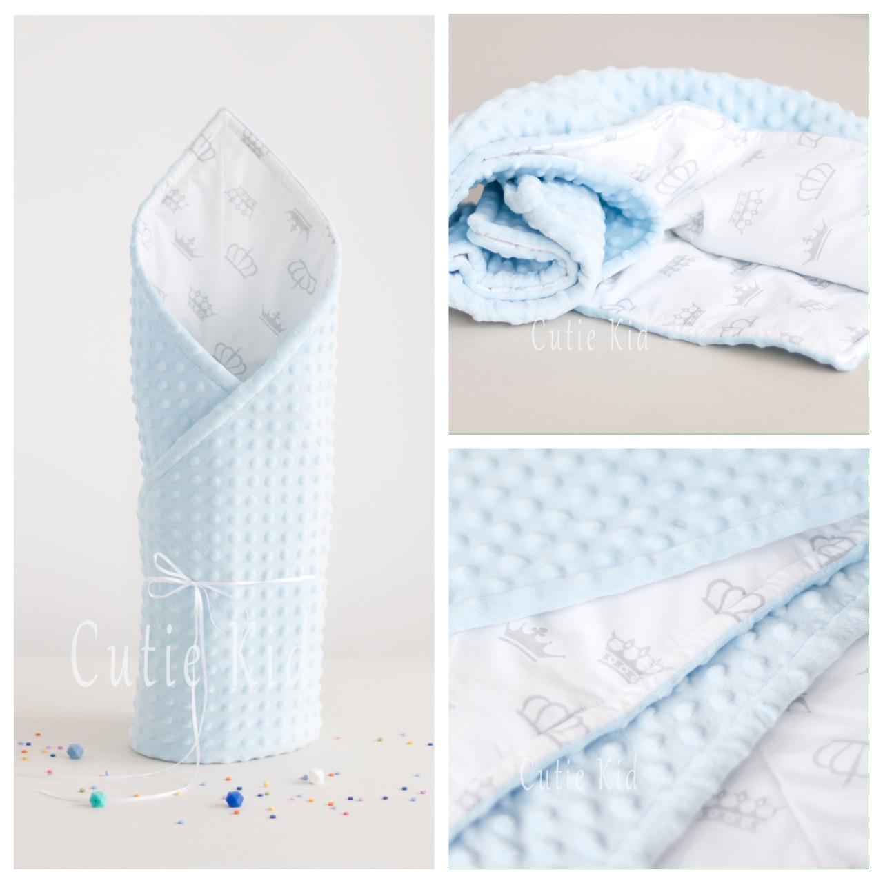 """Одеяло, плед для новорожденного """"Нежность"""""""