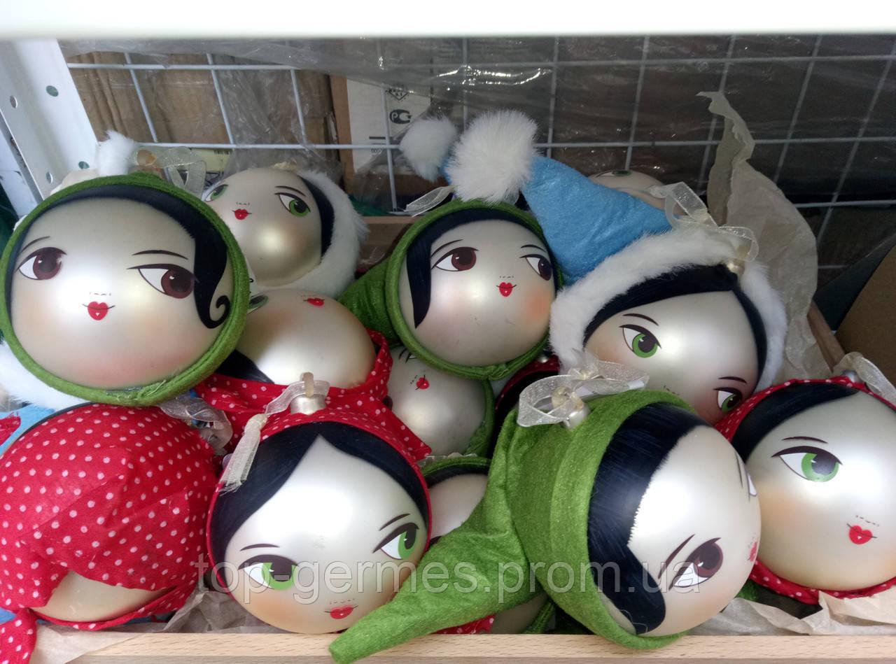 Эксклюзивные новогодние шары