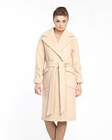 Женское пальто из кашемира букле 44-50р  беж