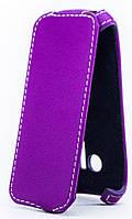 Чехол Status Flip для Sony Xperia ZL C6503 Purple