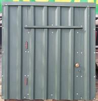 Крышка для колодца (диаметр кольца 1,1 м) зелёный матовый, фото 1