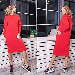 Платье -свитшот