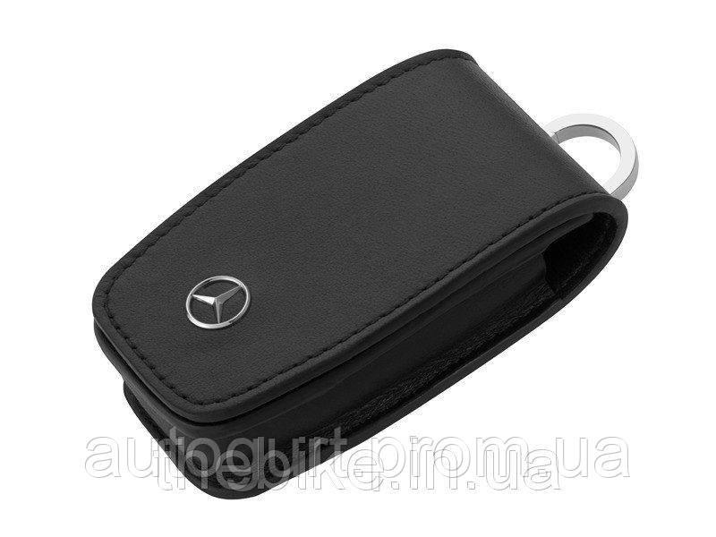 Кожаный футляр для ключей Mercedes-Benz Key Wallet, Gen. 6, Black