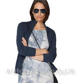 Вязаная кофта BMW Ladies Knit Jacket Dark Blue 2015
