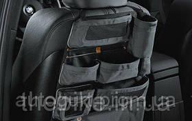 Карман на спинку переднего сиденья BMW Backrest Storage Pocket Black