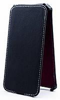 Чехол Status Flip для Sony Xperia C C2305 Black Matte
