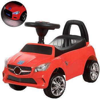 Каталка-толокар для малюків M 3147C-3 Mercedes прогумовані колеса