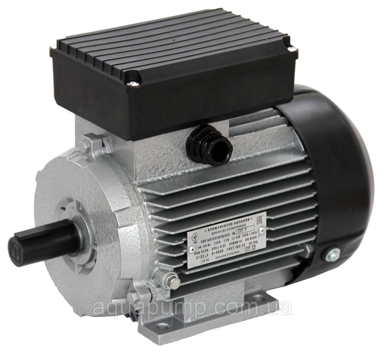 Електродвигун АИ1Е 80 А4 У2 (л)