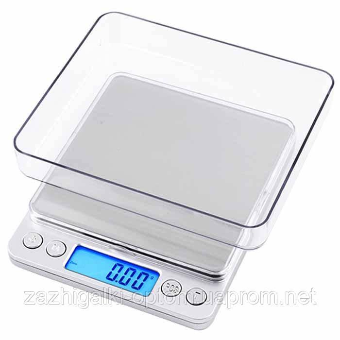 Весы ювелирные 6295A, 500г (0.01г) +чаша