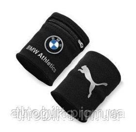 Напульсник с карманом BMW Wrist Wallet Black
