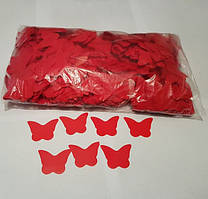 Конфетти бабочки красные, 50 грамм
