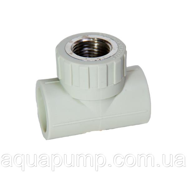 Тройник PPR с ВР 20х3/4 280/28 GRE Aqua Pipe