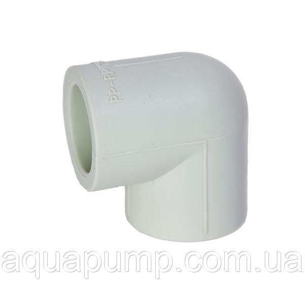 Угольник PPR 90*/90 22/2 GRE Aqua Pipe