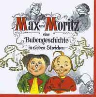 "Салфетка 33х33см (1шт) ""Братья Макс и Мориц"""