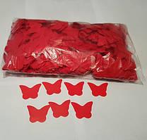 Конфетти бабочки красные, 100 грамм