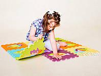 Детский игровой развивающий коврик-пазл (мозаика головоломка) OSPORT 10шт (M-0377)