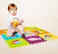 Детский игровой развивающий коврик-пазл (мозаика головоломка) OSPORT 10шт (M-0376)