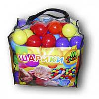 Шарики RoyalToys 01160 для сухих бассейнов 100 шт в сумке