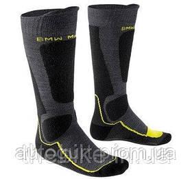 Термоноски BMW Motorrad Thermo functional sock, Anthracite/Yellow/Dark Gray