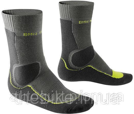 Носки BMW Motorrad Summer functional sock, Light Gray/Yellow/Dark Gray
