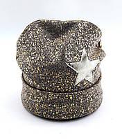 Теплая шапка детская 52-58р оптом
