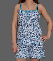 """Комплект домашней одежды майка и шортики """"Амри"""""""