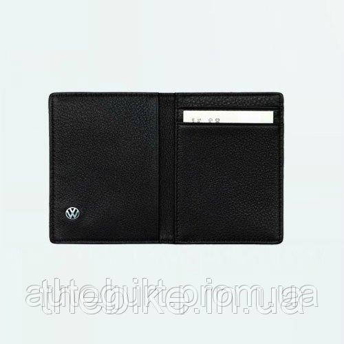 Визитница на 4 карты Volkswagen Business Card Case Brown