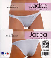 Jadea 507 белые трусики танга