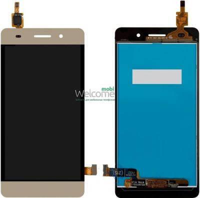 Модуль Huawei Honor 4C (CHM-U01), G Play mini gold дисплей экран, сенсор тач скрин Хонор, фото 2