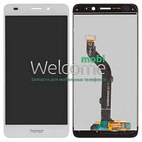 Дисплей (экран) + сенсор (тач скрин) Huawei Honor 7 Lite, Honor 5c (NEM-L51) white (оригинал)