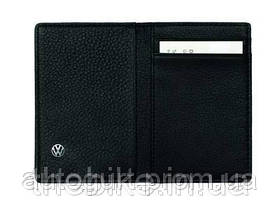 Визитница на 4 карты Volkswagen Business Card Case Black