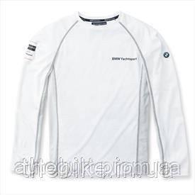 Майка с длинным рукавом BMW Unisex Long-sleeved functional Yachting Shirt White