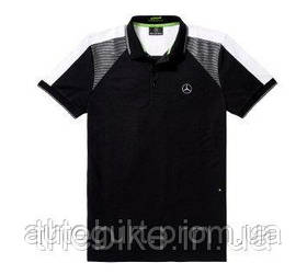 Мужская футболка поло Mercedes-Benz Men's Polo Shirt, Boss Green