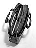 Мужская деловая сумка Mercedes-Benz Men's Business Bag Black, Leather / Nylon, фото 2