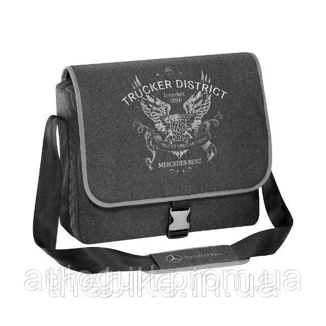 Наплечная сумка Mercedes-Benz Shoulder Bag Trucker District Grey