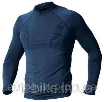 Мужская футболка с длинным рукавом BMW Motorrad Long Shirt UNISEX, Dark Blue
