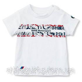 Детская футболка BMW Junior Motorsport T-Shirt White