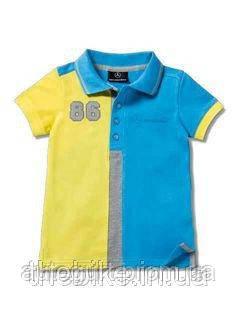 Детская футболка-поло Mercedes-Benz Boys' T-Shirt Striped Collar