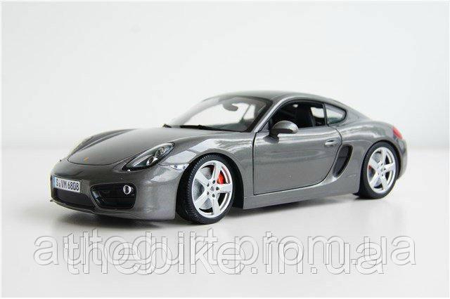Модель автомобиля Porsche Cayman 981, Scale 1:18