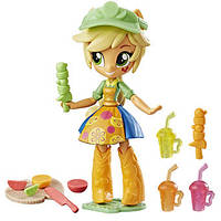 Міні-лялька Эпплджек My Little Pony Equestria Girls Applejack Fruit Smoothies Shop Set