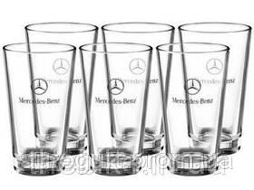 Набор из шести стеклянных стаканов Mercedes-Benz Glass Set