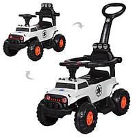 Детская каталка-толокар М 3668-1 Jeep. Гарантия качества. Быстрая доставка.