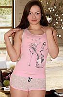Пижама с короткими шортиками