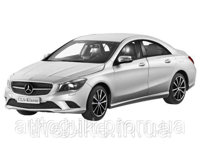 Модель автомобиля Mercedes Benz CLA-Class (С117) 1:18 silver