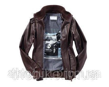 Женская кожаная куртка Porsche Women's Leather Blouson – Steve McQueen